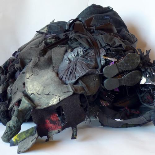 Flower - Black Handbag Land, (folded) 7